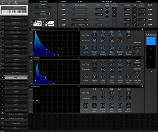 Click to display the Roland D-5 Tone 1 Editor
