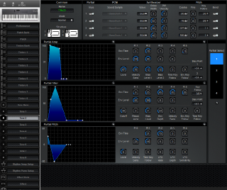 Click to display the Roland D-5 Tone 2 Editor