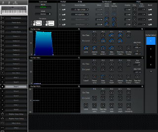 Click to display the Roland D-5 Tone 3 Editor