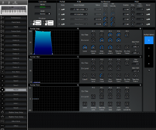Click to display the Roland D-5 Tone 4 Editor