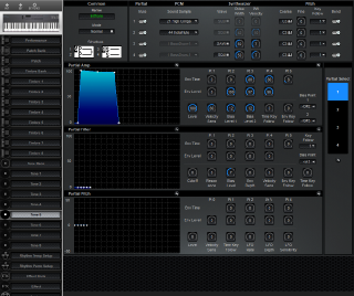 Click to display the Roland D-5 Tone 5 Editor