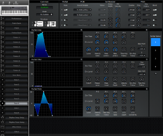 Click to display the Roland D-5 Tone 6 Editor