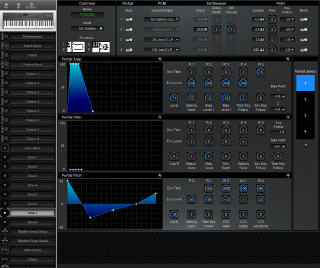 Click to display the Roland D-5 Tone 7 Editor