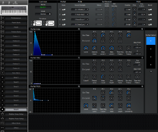 Click to display the Roland D-5 Tone 8 Editor