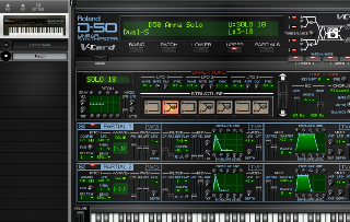 Click to display the Roland D-550 Patch - Partials Mode Editor