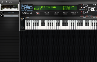 Click to display the Roland D-550 Patch - Patch Mode Editor