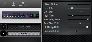 Click to display the Roland DEP-3 Patch Editor