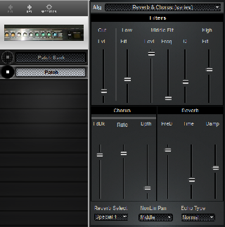 Click to display the Roland DEP-5 Patch Editor