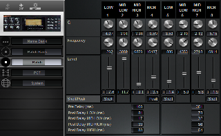 Click to display the Roland E-660 Patch Editor