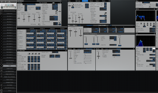 Click to display the Roland Fantom-S88 Patch Editor
