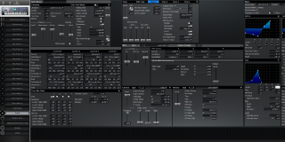Click to display the Roland Fantom FA-76 Patch Editor