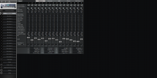 Click to display the Roland Fantom FA-76 Performance - Parts II Mode Editor