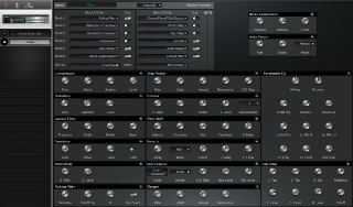 Click to display the Roland GP-16 Patch Editor