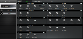 Click to display the Roland GP-8 Patch Editor