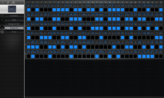 Click to display the Roland GR-30 Arpeggiator Editor