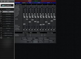Click to display the Roland GR-50 Patch Editor