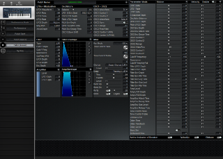 Click to display the Roland JP-8000 Patch (Lower) Editor