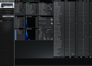 Click to display the Roland JP-8000 Patch (Upper) Editor