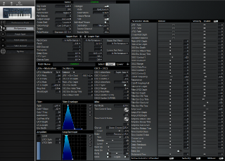 Click to display the Roland JP-8000 Performance Editor
