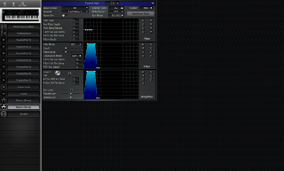 Click to display the Roland JV-1000 Drums (Temp) Editor