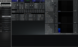 Click to display the Roland JV-1000 Patch (Part 4) Editor