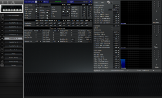 Click to display the Roland JV-1000 Patch (Part 5) Editor
