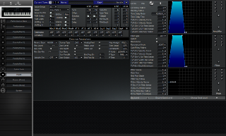Click to display the Roland JV-1000 Patch Editor