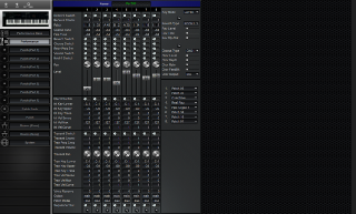 Click to display the Roland JV-1000 Performance Editor