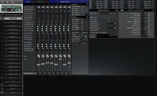 Click to display the Roland JV-1010 Performance Editor