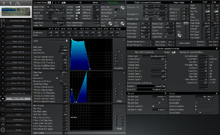 Click to display the Roland JV-1080 Patch ( Part 15)  Editor