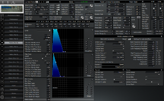 Click to display the Roland JV-1080 Patch ( Part 6)  Editor