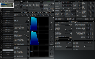 Click to display the Roland JV-1080 Patch Editor