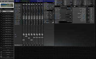 Click to display the Roland JV-1080 Performance Editor
