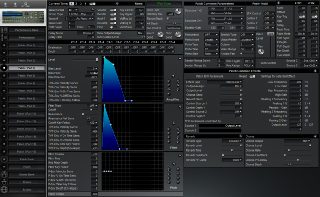 Click to display the Roland JV-2080 Patch (Part 1)  Editor