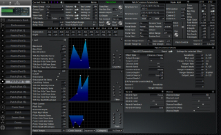 Click to display the Roland JV-2080 Patch (Part 12) Editor