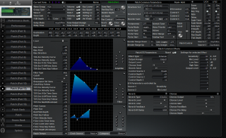 Click to display the Roland JV-2080 Patch (Part 13) Editor