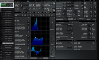 Click to display the Roland JV-2080 Patch (Part 15) Editor