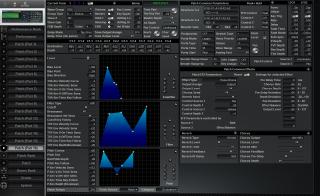 Click to display the Roland JV-2080 Patch (Part 16) Editor