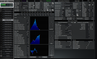 Click to display the Roland JV-2080 Patch (Part 4) Editor