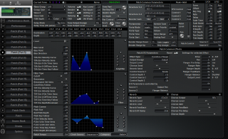 Click to display the Roland JV-2080 Patch (Part 5) Editor