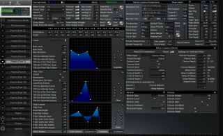 Click to display the Roland JV-2080 Patch (Part 7) Editor