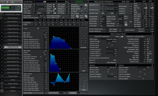 Click to display the Roland JV-2080 Patch (Part 8) Editor