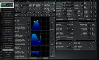 Click to display the Roland JV-2080 Patch Editor
