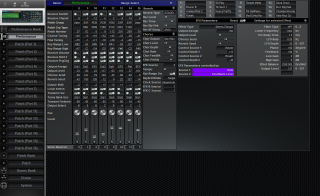 Click to display the Roland JV-2080 Performance Editor
