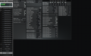 Click to display the Roland JV-2080 System Editor