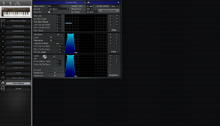 Click to display the Roland JV-80 Drums(Temp) Editor