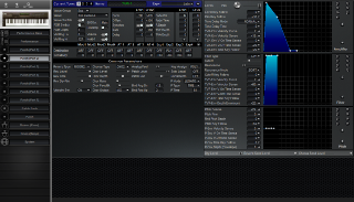 Click to display the Roland JV-80 Patch (Part 2) Editor