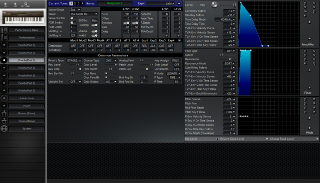 Click to display the Roland JV-80 Patch (Part 3) Editor