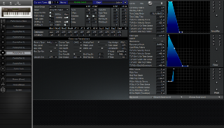 Click to display the Roland JV-80 Patch (Part 5) Editor