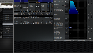 Click to display the Roland JV-80 Patch (Part 6) Editor
